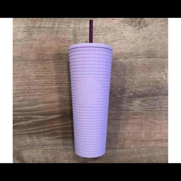 Purple tumbler
